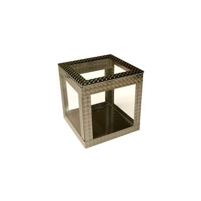 4 inch Crystal Clear Cube by Ickle Pickle - Trick