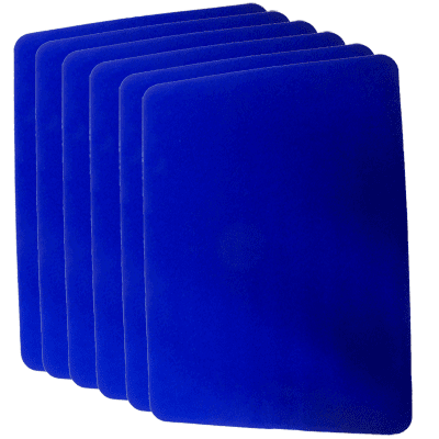 Close Up Pad 6 Pack LARGE (Blue 12 inch  x 17 inch) by Goshman - Trick