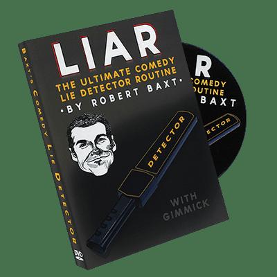 LIAR (DVD & Gimmicks) by Robert Baxt - Trick