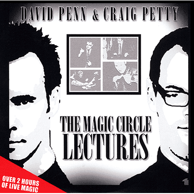 Magic Circle Lectures by David Penn and Craig Petty - DVD