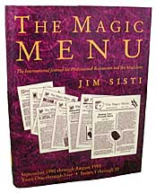 Magic Menu: Years 1 through 5 - Book