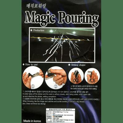 Magic Pour Streamer (6pK rolls/13 streamer per roll) by JL Magic - Trick