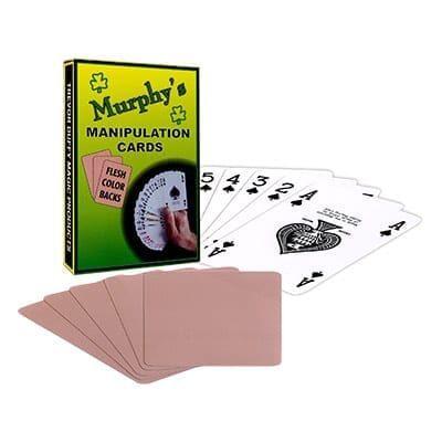 Manipulation Cards (FLESH COLOR BACKS) by Trevor Duffy