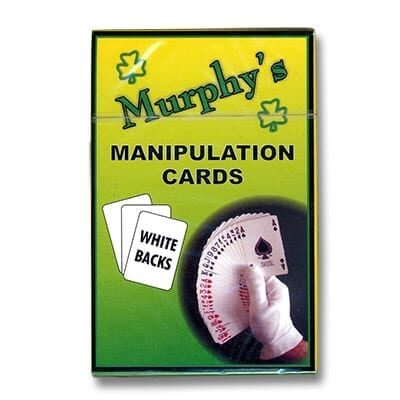 Manipulation Cards - WHITE BACKS(For Glove Workers) by Trevor Duffy - Trick