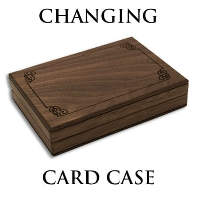 Changing Card Case (Gimmicks and Online Instruction) by Mikame - Trick