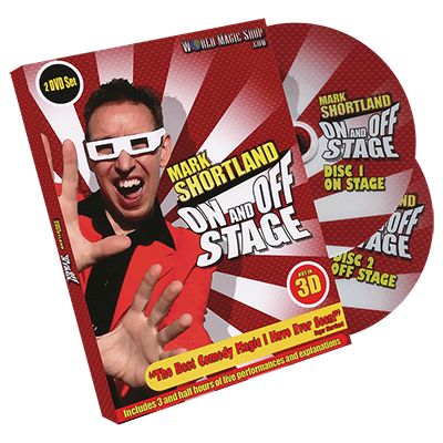 On and Off Stage by Mark Shortland and World Magic Shop - DVD