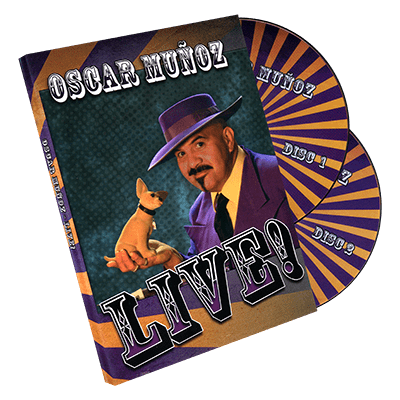 Oscar Munoz Live (2 DVD Set) by Kozmomagic - DVD