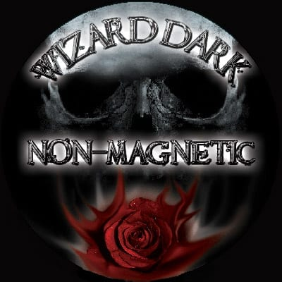 Wizard DarK FLAT Band Non-Magnetic Ring (size 17mm) - Trick