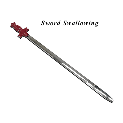 Sword Swallowing by Premium Magic  - Trick