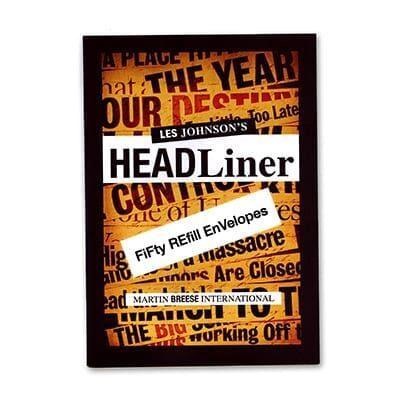 Refill for Headliner by Les Johnson - Trick