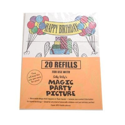 Refill for Magic Party Picture Tri