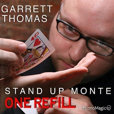 Refill for Stand Up Monte (Bicycle) by Garrett Thomas & Kozmomagic - Tricks