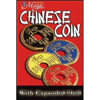 Expanded Chinese Shell w/Coin (YELLOW) - Trick