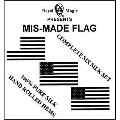 Mis-Made Flag (6 silk set) by Royal Magic