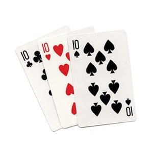 Three Card Monte (Regular) by Royal Magic - Trick