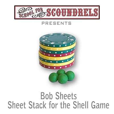 Sheets Poker Chip Stack by Bob Sheets - Trick