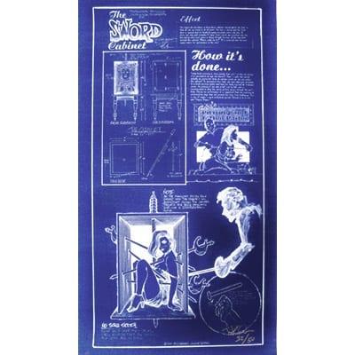 Sword Bo x Poster, (42 inch  x 22 inch) in tube by Paul Osborne - Trick