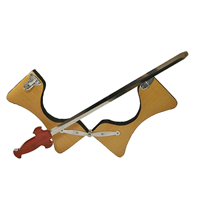 Sword Thru Neck ( 2 pcs items ) by Mr. Magic - Trick
