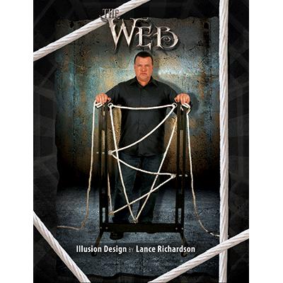 The Web Illusion Vol 3 (Mockup) by Lance Richardson - Book