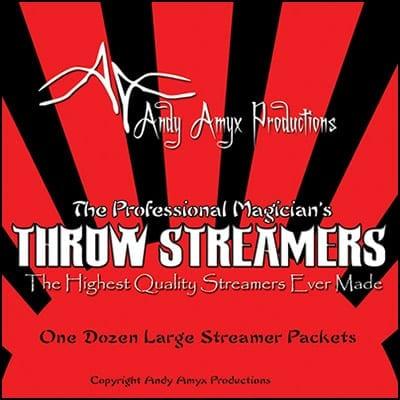 Throw Streamers by Andy Amyx( 1dozen=1 unit)- Trick