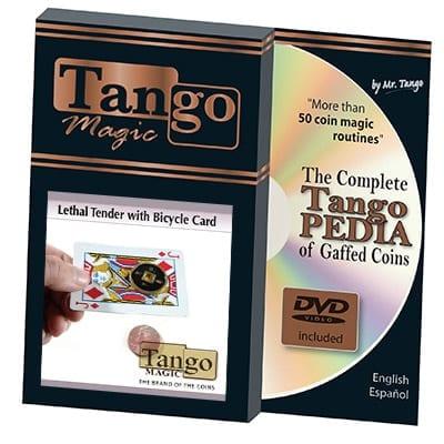Lethal Tender (w/DVD) (D0070) by Tango - Trick