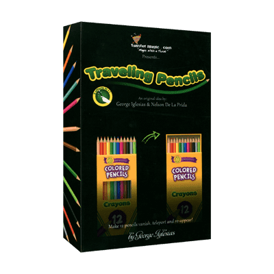 The Traveling Pencils by George Iglesias and Nelson De La Prida - Trick