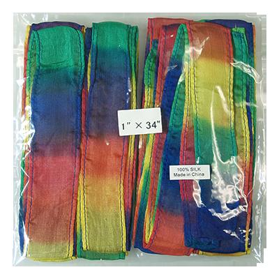 Thumb Tip Streamer 12 pack (1 inch  x 34 inch) by Magic by Gosh - Tricks