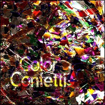 Color Glitter Confetti by Uday - Trick