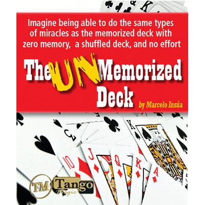 Unmemorized Deck by Marcelo Insua - DVD
