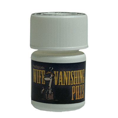 Vanishing Wife Pills by David Bonsall and PropDog - Trick