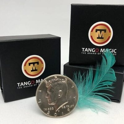 Lightweight Half Dollar (w/DVD)(D0114) by Tango - Trick