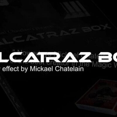 Alcatraz Box (RED Gimmick and Online Instructions) by Mickael Chatelain - Trick