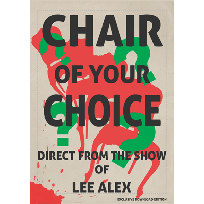 Chair Of Your Choice by Lee Alex - eBook DOWNLOAD