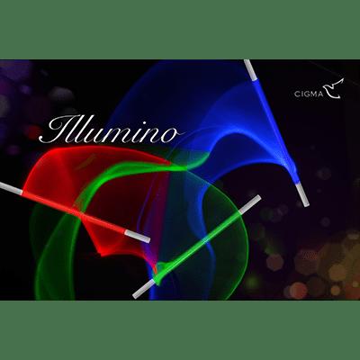 Illumino Wand (Red) by Cigma Magic - Trick