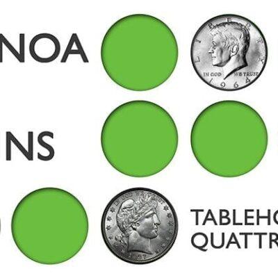 Kainoa on Coins: Tablehopper's Quattro - DVD