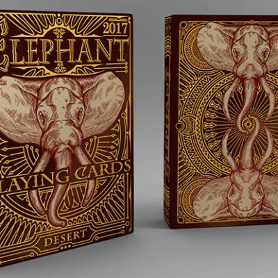 Elephant Playing Cards (Desert)