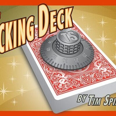 The Locking Deck (BLUE) by Tim Spinosa - Trick
