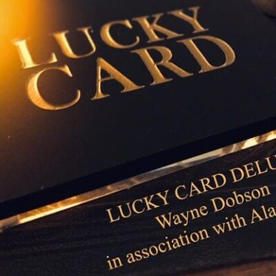 Lucky Card Deluxe by Wayne Dobson & Alan Wong - Trick