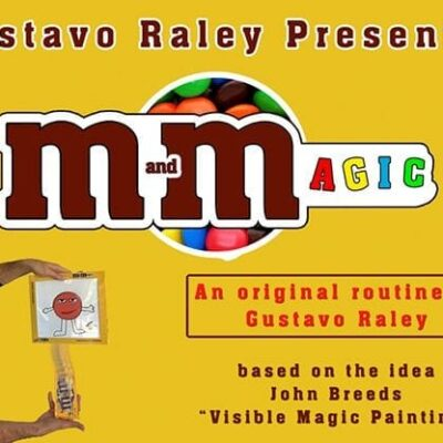 M and Magic (Gimmicks and Online Instructions) by Gustavo Raley - Trick