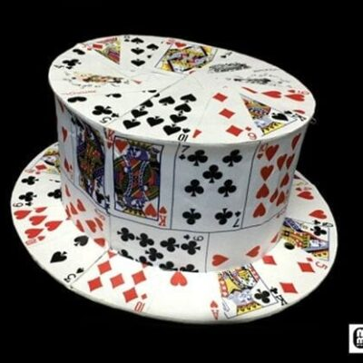 Card Fan to Top Hat by Mr. Magic - Trick