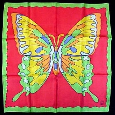 """Rice Picture Silk 18"""" (Butterfly) by Silk King Studios - Trick"""