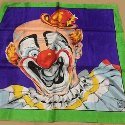 """Rice Picture Silk 27"""" (Circus Clown) by Silk King Studios - Trick"""