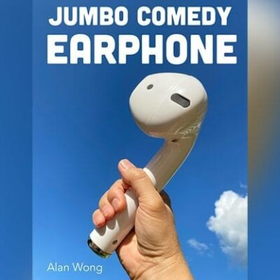JUMBO COMEDY HEADPHONE by Alan Wong - Trick
