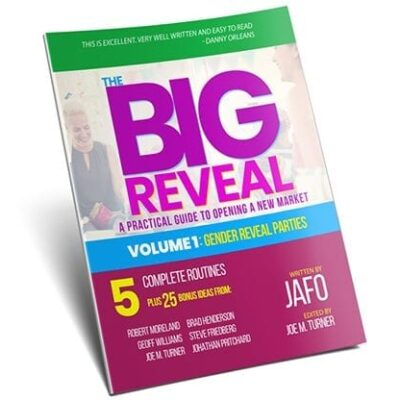 The Big Reveal: A Practical Guide to Opening a New Market Volume 1 - Gender Reveal Parties by Jafo eBook DOWNLOAD