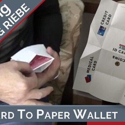 Card to Paper Wallet by Hans Trixer/Wolfgang Riebe Mixed Media DOWNLOAD