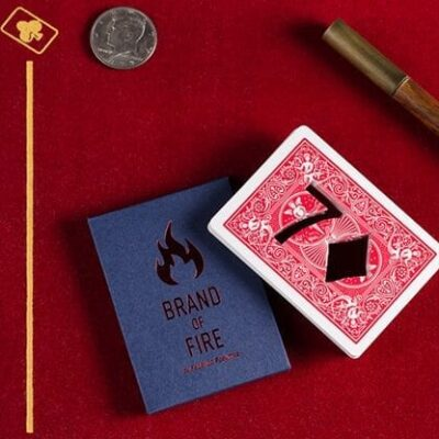 BRAND OF FIRE / RED (Gimmicks and Online Instructions) by Federico Poeymiro - Trick