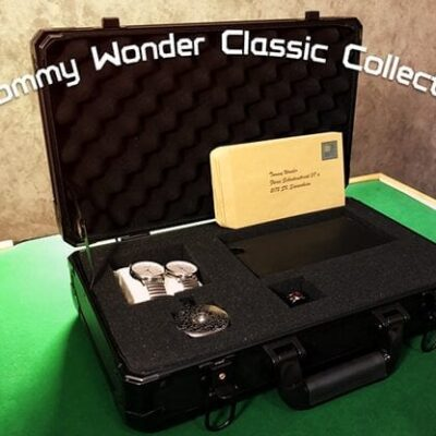 Tommy Wonder Classic Collection Ring Watch & Wallet by JM Craft - Trick