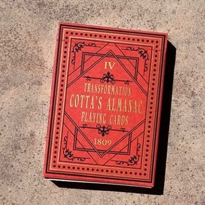 Cotta's Almanac #4 Transformation Playing Cards