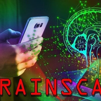 Brain Scan by Russ Wagg mixed media DOWNLOAD
