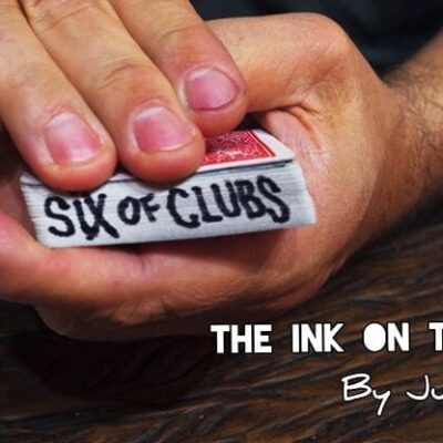 INK ON THE DECK by Juan Pablo - Trick